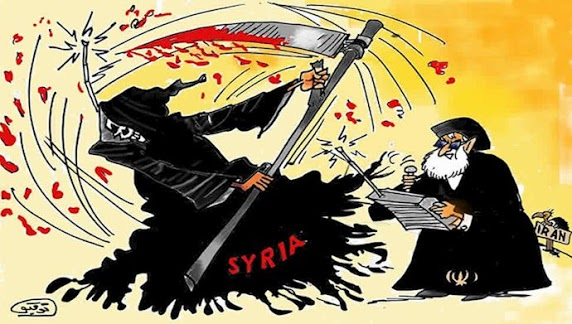 Syria is a shadow, the main goal is the Iranian regime